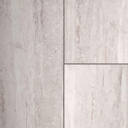24 in. x 12 in. Graystone Travertine Porcelain Tile
