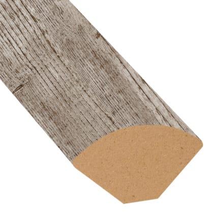 Old Port Pine Vinyl 0.75 in wide x 7.5 ft length Quarter Round