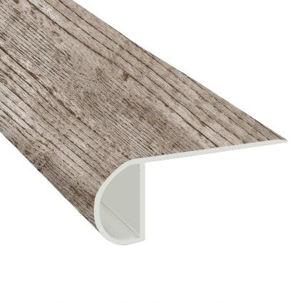 Old Port Pine Vinyl Waterproof 2.25 in wide x 7.5 ft Length Low Profile Stair Nose