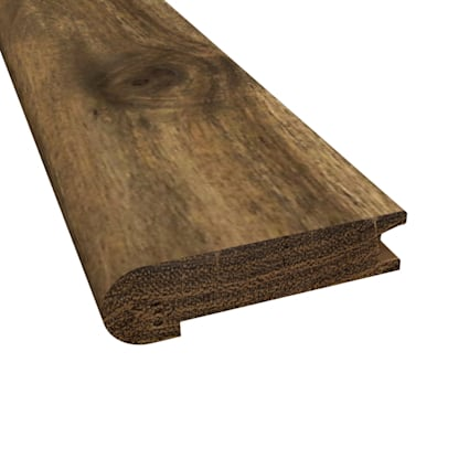 Prefinished Distressed Bar Harbor Acacia Hardwood 3/4 in thick x 3.125 in wide x 78 in Length Stair