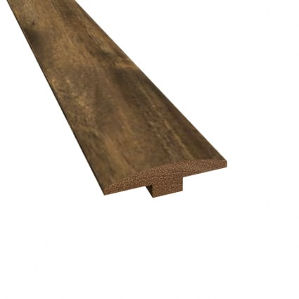 Prefinished Distressed Bar Harbor Acacia Hardwood 1/4 in thick x 2 in wide x 78 in Length TM