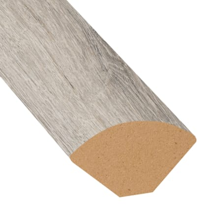 Dewy Meadow Oak Vinyl 0.75 in wide x 7.5 ft length Quarter Round