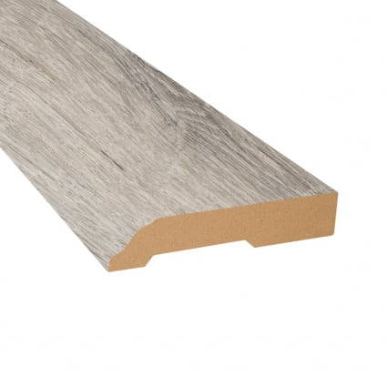 Dewy Meadow Oak Vinyl 3.25 in wide x 7.5 ft Length Baseboard