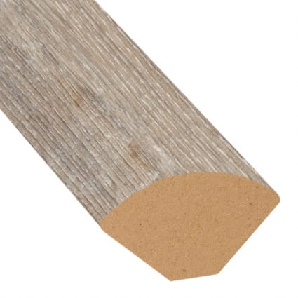 Seashell Oak Laminate 0.75 in wide x 7.5 ft length Quarter Round