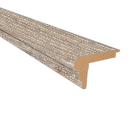 Seashell Oak Laminate 2.3 in wide x 7.5 ft Length Flush Stair Nose