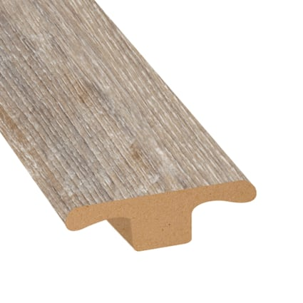 Seashell Oak Laminate 1.75 in wide x 7.5 ft Length T-Molding
