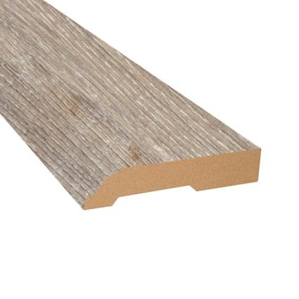 Seashell Oak Laminate 3.25 in wide x 7.5 ft Length Baseboard
