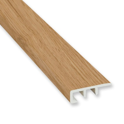 Honey Mead Oak Laminate Waterproof 1.374 in wide x 7.5 ft Length End Cap
