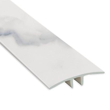 Roman Marble Laminate Waterproof 1.75 in wide x 7.5 ft Length T-Molding