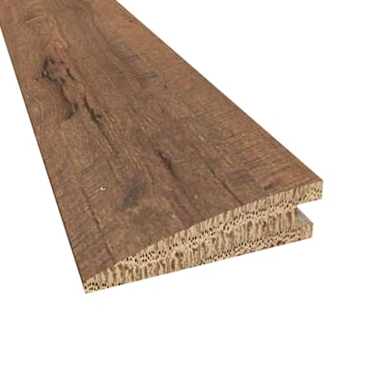 Prefinished Athens White Oak Hardwood 5/8 in thick x 2.25 in wide x 78 in Length Reducer