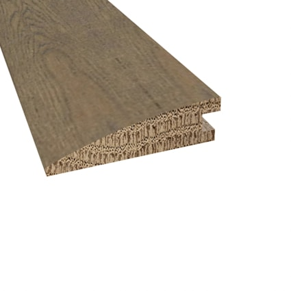 Prefinished Monaco White Oak Hardwood 5/8 in thick x 2.25 in wide x 78 Length Reducer