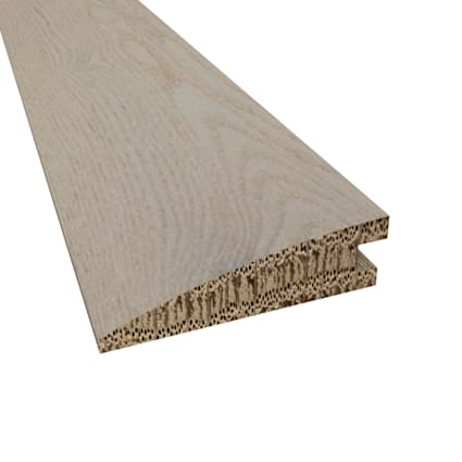 Prefinished Florence White Oak Hardwood 5/8 in thick x 2.25 in wide x 78 in Length Reducer
