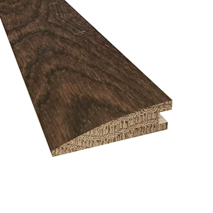 Prefinished Bordeaux White Oak Hardwood 5/8 in thick x 2.25 in wide x 78 in Length Reducer