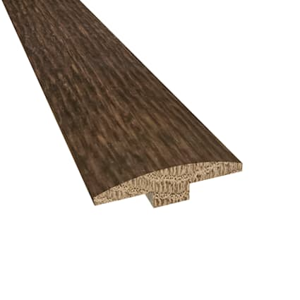 Prefinished Bordeaux White Oak Hardwood 1/4 in thick x 2 in wide x 78 in Length T-Molding