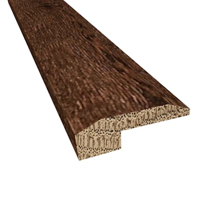 Prefinished Milan White Oak Hardwood 5/8 in thick x 2 in wide x 78 in Length Threshold