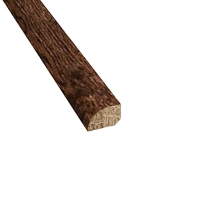 Prefinished Milan White Oak Hardwood 1/2 in thick x .75 in wide x 78 in Length Shoe Molding