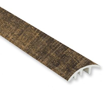 Rail Tie Oak Vinyl Waterproof 1.5 in wide x 7.5 ft Length Reducer
