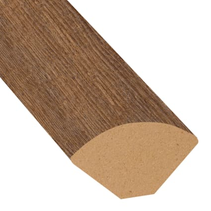 Copper Ridge Chestnut Laminate 0.75 in wide x 7.5 ft length X2O Water-Resistant Quarter Round
