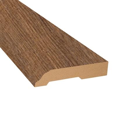Copper Ridge Chestnut Laminate 3.25 in wide x 7.5 ft Length Baseboard