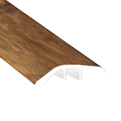Natural Hackberry Laminate Waterproof 1.56 in wide x 7.5 ft Length Low Profile Reducer