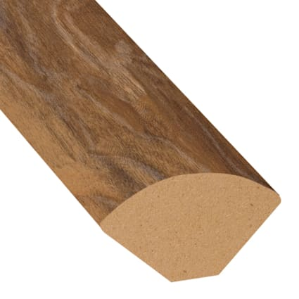 Natural Hackberry Laminate 1.075 in wide x 7.5 ft Length Quarter Round