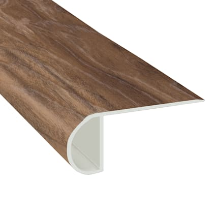Natural Hackberry Laminate Waterproof 2.3 in wide x 7.5 ft Length Low Profile Stair Nose