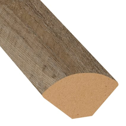 Urban Loft Ash Vinyl 1.075 in wide x 7.5 ft Length Quarter Round