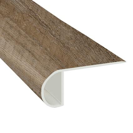 Urban Loft Ash Vinyl Waterproof 2.25 in wide x 7.5 ft Length Low Profile Stair Nose