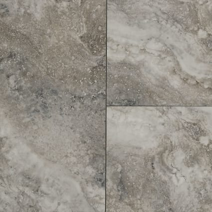 8mm Oyster Shell Travertine Rigid Vinyl Plank Flooring