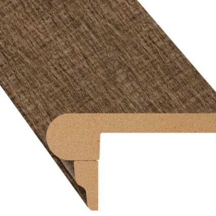 Crows Nest Oak Laminate 2.3 in wide x 7.5 ft Length Flush Stair Nose
