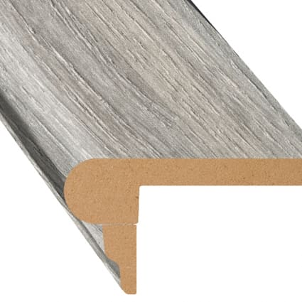 Manchester Oak Laminate 2.3 in wide x 7.5 ft Length Flush Stair Nose