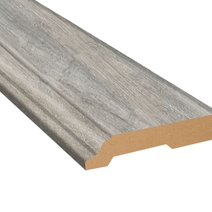Manchester Oak Laminate 3.25 in wide x 7.5 ft Length Baseboard