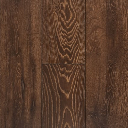 12mm Elusive Brown Oak 72 Hour Water-Resistant Laminate Flooring 8 in. Wide x 47.64 in. Long