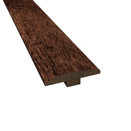 Prefinished Berkeley Brazilian Oak Hardwood 1/4 in thick x 2 in wide x 78 in Length T-Molding