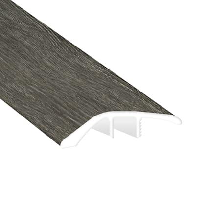 Midnight Oak Laminate Waterproof 1.56 in wide x 7.5 ft Length Low Profile Reducer