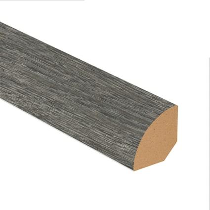 Midnight Oak Laminate 1.075 in wide x 7.5 ft Length Quarter Round