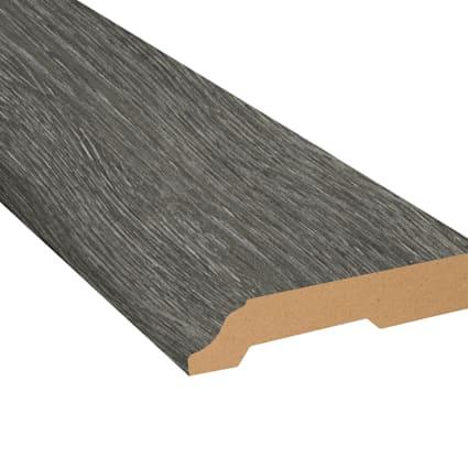 Midnight Oak Laminate 3.25 in wide x 7.5 ft Length Baseboard