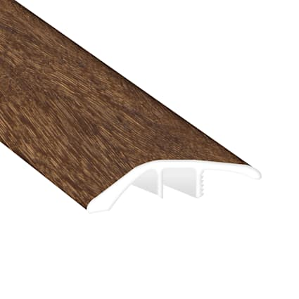 Elusive Brown Oak Laminate Waterproof 1.56 in wide x 7.5 ft Length Low Profile Reducer