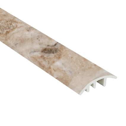 Jove Travertine Vinyl Waterproof 1.5 in wide x 7.5 ft Length Reducer