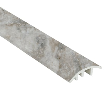 Oyster Shell Travertine Vinyl Waterproof 1.5 in wide x 7.5 ft Length Reducer