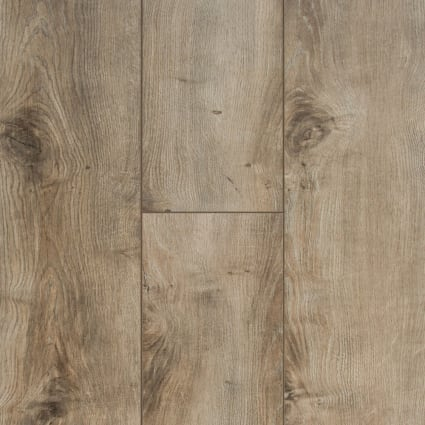 12mm+pad Sandpiper Oak Laminate Flooring 6.18 in. Wide x 50.78 in. Long