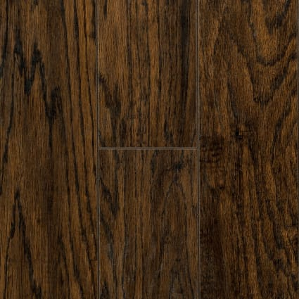 12mm+pad Riverside Hickory Laminate Flooring 6.18 in. Wide x 50.78 in. Long