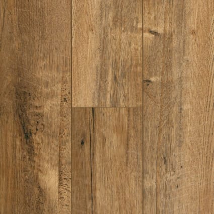 12mm+pad Copper Sands Oak Laminate Flooring 6.18 in Wide x 50.78 in. Long