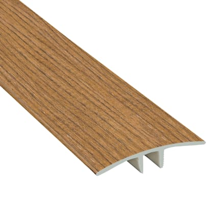 Golden Gate Oak Laminate Waterproof 1.75 in wide x 7.5 ft Length Low Profile T-Molding
