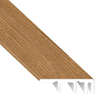 Golden Gate Oak Laminate Waterproof 1.374 in wide x 7.5 ft Length Low Profile End Cap