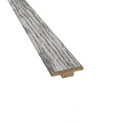 Prefinished Kristiansand Oak Hardwood 3/16 in thick x 1.25 in wide x 78 in Length T-Molding