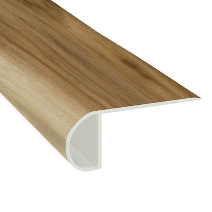 Verona Myrtle Vinyl Waterproof 2.25 in wide x 7.5 ft Length Low Profile Stair Nose