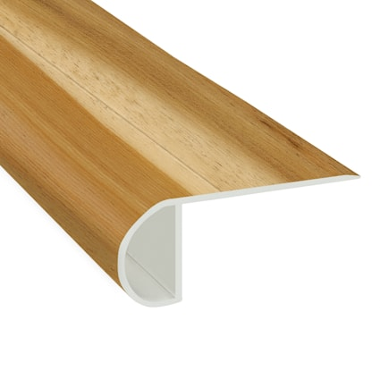 Rocky Hill Hickory Vinyl Waterproof 2.25 in wide x 7.5 ft Length Low Profile Stair Nose