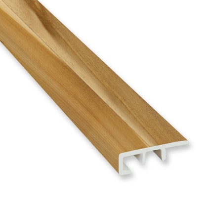 Rocky Hill Hickory Vinyl Waterproof 1.5 in wide x 7.5 ft Length End Cap