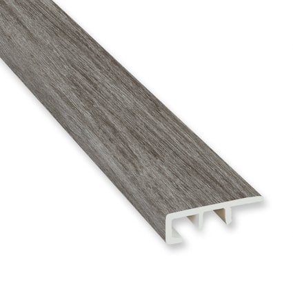 Winterwood Oak Vinyl Waterproof 1.5 in wide x 7.5 ft Length End Cap
